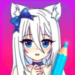 Anime Manga Coloring Pages with Animated Effects MOD Unlimited Money for android