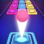 Beat Ball Dancing Color Hop MOD Unlimited Money for android