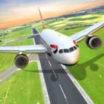 Flight Plane Simulator 3D Airplane Flying Sim MOD Unlimited Money for android