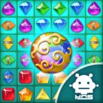 Paradise Jewel Match 3 Puzzle MOD Unlimited Money for android