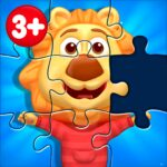 Puzzle Kids – Animals Shapes and Jigsaw Puzzles MOD Unlimited Money for android