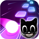 Cartoon cat – Hop round tiles edm rush MOD Unlimited Money for android