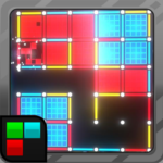 Dots and Boxes Neon 80s Style Cyber Game Squares MOD Unlimited Money for android