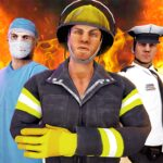 Emergency Rescue Service- Police Firefighter Ems MOD Unlimited Money for android