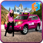 New York Taxi Duty Driver Pink Taxi Games 2018 MOD Unlimited Money for android