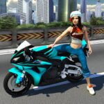 Racing Girl 3D MOD Unlimited Money for android