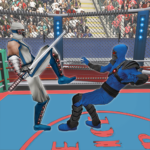Real Robot Ninja Ring Fight Fighting Games 2020 MOD Unlimited Money for android