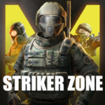 Striker Zone Mobile Online War Shooting Games MOD Unlimited Money for android