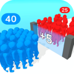 Crowd Multiplier 3D MOD Unlimited Money for android