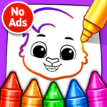 Drawing Games Draw Color For Kids MOD Unlimited Money for android