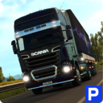 Euro Truck Parking Simulator 2021 3d parking Game MOD Unlimited Money for android