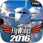 Flight Simulator 2016 FlyWings Free MOD Unlimited Money for android