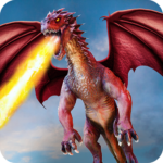 Flying Dragon Battle Simulator City Attack MOD Unlimited Money for android