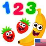 Funny Food 123 Kids Number Games for Toddlers MOD Unlimited Money for android