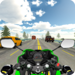 Highway Real Traffic Bike Racer MOD Unlimited Money for android