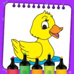 Kids Coloring Book Paint Coloring Games for Kids MOD Unlimited Money for android