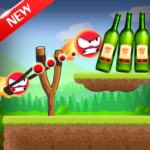 Knock Down Bottles 321 Ball Hit Cans Shoot Down MOD Unlimited Money for android