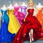 Model Fashion Red Carpet Dress Up Game For Girls MOD Unlimited Money for android