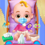 Mommy Newborn Baby Nursery- Virtual Babysitter MOD Unlimited Money for android