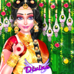 Royal South Indian Wedding Ritual Fashion Salon MOD Unlimited Money for android