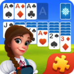 Solitaire Jigsaw Puzzle – Design My Art Gallery MOD Unlimited Money for android