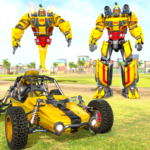 Flying Ghost Robot Car Game MOD Premium Cracked for android