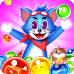 Tomcat Pop New Bubble Shooter MOD Unlimited Money for android
