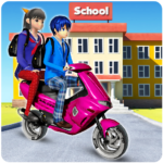 Virtual High School Life Simulator Offline 2020 MOD Unlimited Money for android