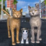Cat Family Simulator Stray Cute Kitty Game MOD Unlimited Money for android