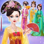 Chinese Doll Makeup Salon Spa MOD Unlimited Money for android