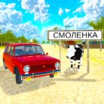 Driving Simulator Russian Village Online MOD Unlimited Money for android