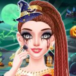 Halloween Makeup Girls Game MOD Unlimited Money for android