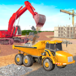 Heavy Excavator Crane Sim Game MOD Unlimited Money for android