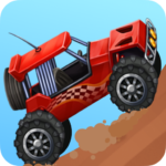 Mad car Racing on hilltop MOD Unlimited Money for android
