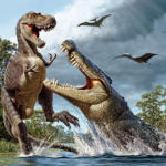Talking Sarcosuchus MOD Premium Cracked for android